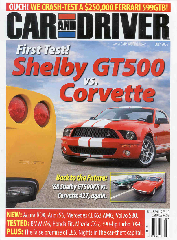 Ravelco - Car & Driver Magazine Page